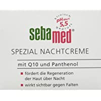 Sebamed Speciale nachtcrème met Q10 en panthenol 75 ml, bevordert de regeneratie van de huid 's nachts, werkt zichtbaar…