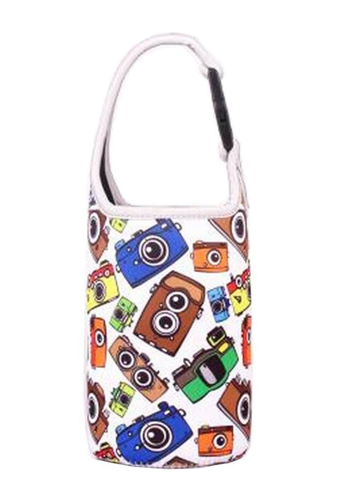 Lovely Baby Bottle Tote Bag Food Jar Tote Bag Lunch Box Bag Camera Black Temptation