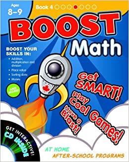 BOOST Math - Book 4 with CD-ROM (Ages 8-9): Amazon.ca: Pearson Canada: Books
