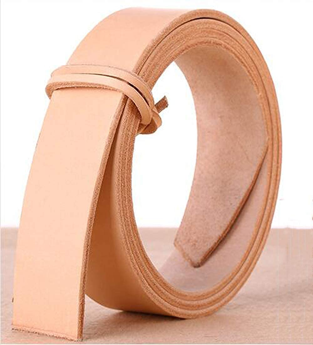 DIY Blank Tanned Leather Strip Strap Belt Handmade 100-130cm Various Width