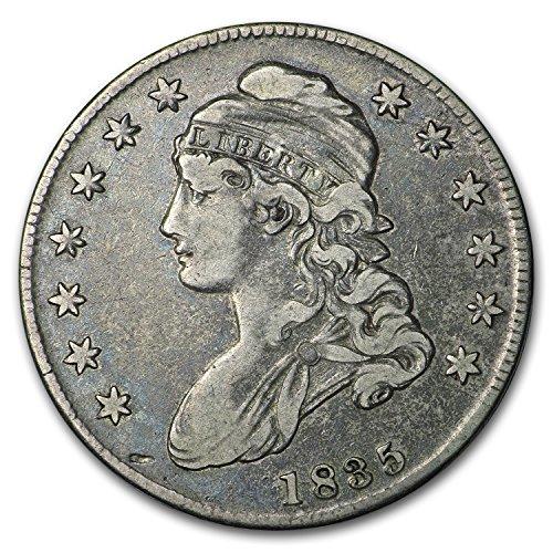 1835 Capped Bust Half Dollar VF Half Dollar Very Fine