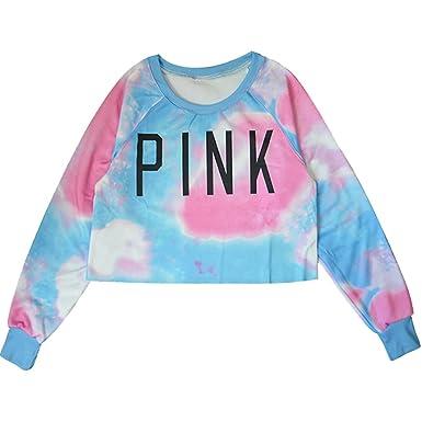 WTUS Ultra Mujer Suéter Básico Pink Sudadera: Amazon.es: Ropa y accesorios