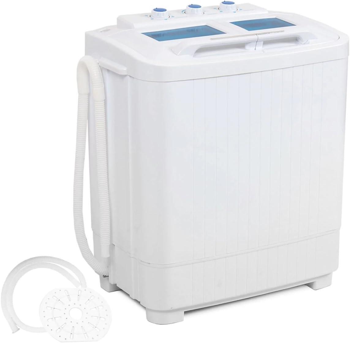 Mini lavadora portátil Sma lavadora RV Dorms Mac Compact Easy ll ...