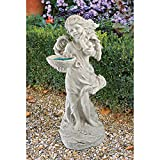 Cheap Design Toscano Angelica's Garden Bounty Statue