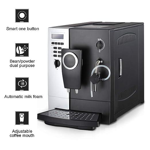 WLNKJ Cafetera Automática, Extracción De Alta Presión De 19 ...