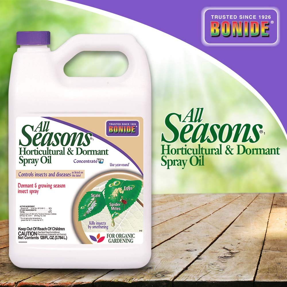 Bonide (BND212) - All Seasons Horticultural and Dormant Spray Oil, Insecticide Concentrate (1 gal.) by Bonide