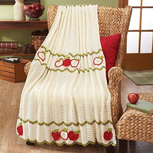 Herrschners® Apple Harvest Afghan Kit by Herrschners®
