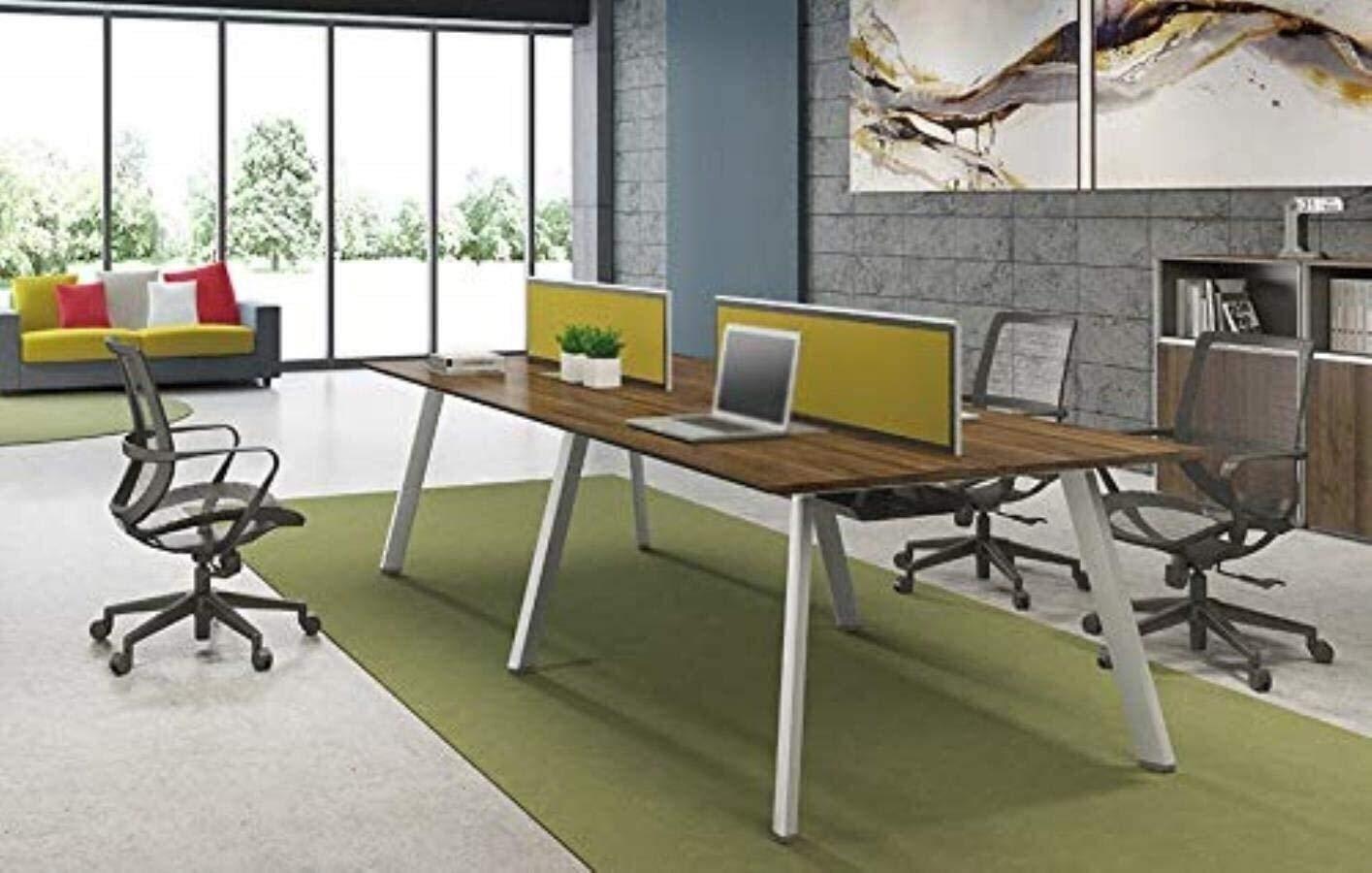 DBL Executive Recline bekväm stödstol, midjestol stöd ryggstol datorstol kontorsstol konferensstol vadderad kontorsstol skrivbordsstolar (färg: vit) Vitt