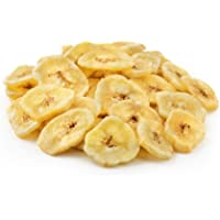 NUTS U.S. - Banana Chips, Dried, Sweetened in Resealable Bag (2 LBS)