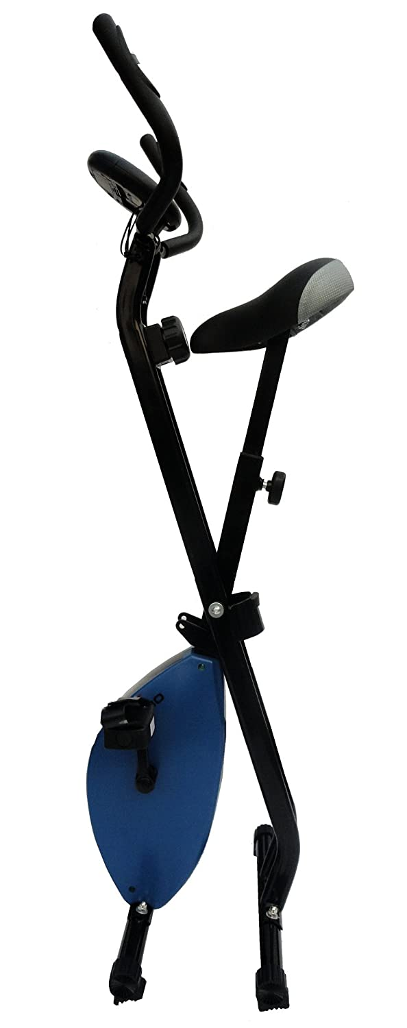 28295a742c9a Buy Kobo Blue Magnetic Exercise Bike Exercise Cycle X-Bike (Folding)  (Green) Online at Low Prices in India - Amazon.in