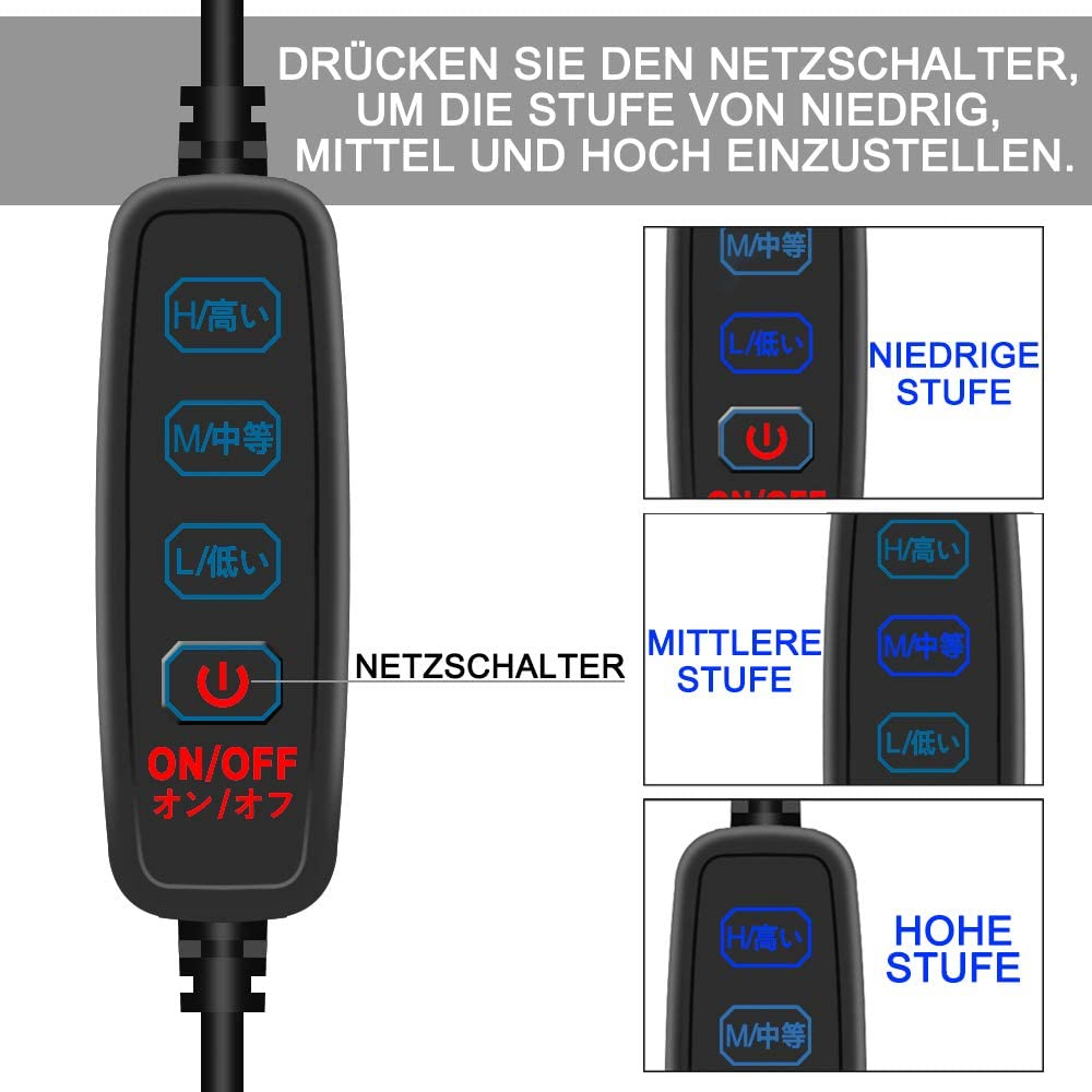 "dhu30 USB heizmanschette heizband 30cm para 3/"" telescopio 90-100mm"