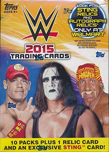 2015-topps-wwe-wrestling-exclusive-factory-sealed-retail-box-with-special-sting-card-wwe-relic-card-