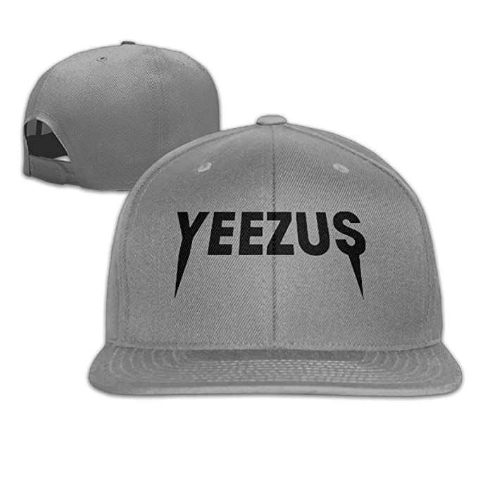 6b32fbda Sady Men's Kanye West Bear Yeezus Tour Plain Caps Sport Baseball Snapback  Hats: Amazon.ca: Clothing & Accessories