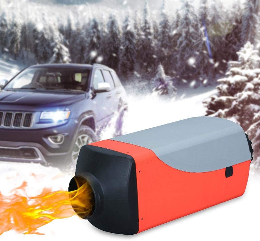 5KW Diesel Air Heater, Fuel Oil Parking Heater(12V/ 24V), Fuel Heater LCD Display And Digital Switch Silencer Is Fitting Diesel Mechanical Vehicles