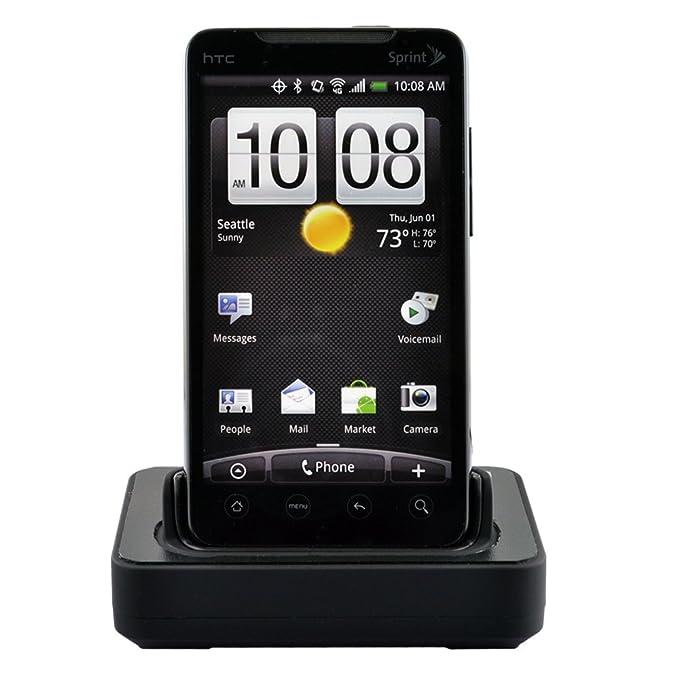 Seidio Cargador de escritorio Cuna para uso con HTC EVO 4 G ...