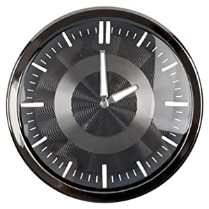 AUTOBAN Car Automotive Dashboard Clock Round Quartz Automobile Clock for Classic, Vintage, Race or Muscle Cars