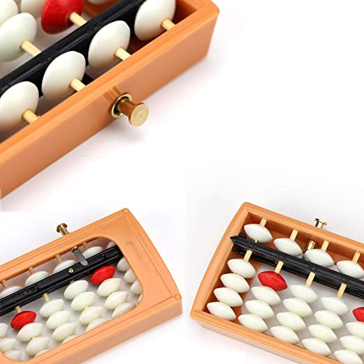 QNJM 13 Dígitos Columna Abacus, Lucky Calculator Chino, China ...