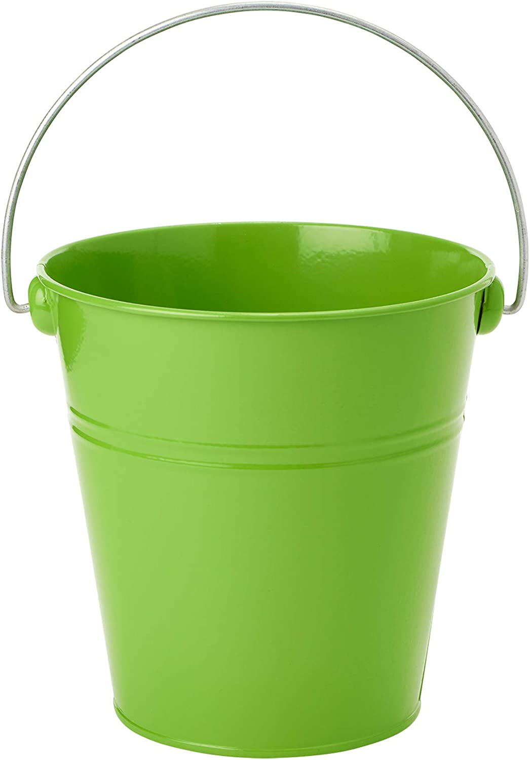 Simply Elegant (12 Pack) Decorative Color Metal Bucket with Handles (6