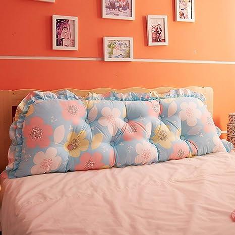 ACZZ Cojín grande en el sofá en cama de algodón Respaldo de ...