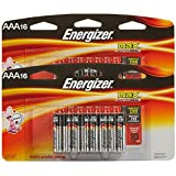 Energizer AAA Max Alkaline E92 Batteries Made in USA - Expiration 12/2026 - 32 count