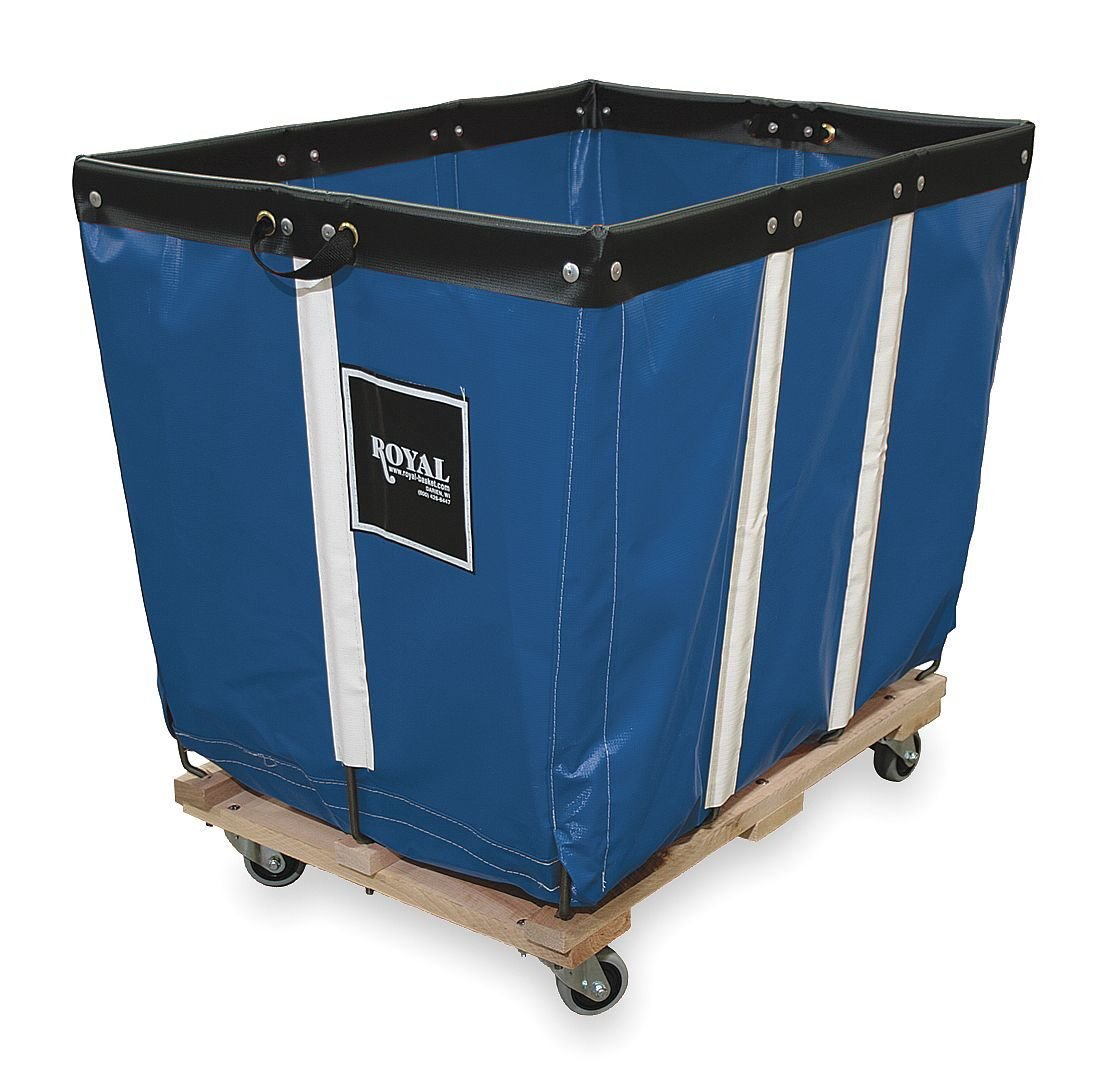 Basket Truck, 6 Bu. Cap, Blue, 30 in. L