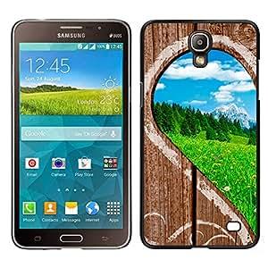 Stuss Case / Funda Carcasa protectora - The Curved Perception Of The World - Samsung Galaxy Mega 2