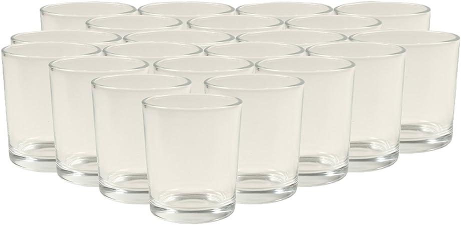 5 St WECK Teelichthalter Glas für Teelicht