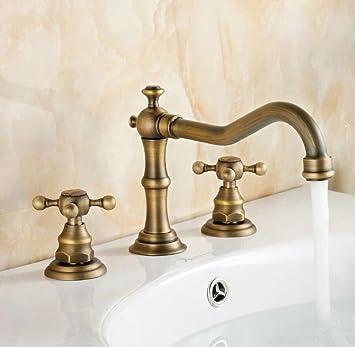 Fantastisch Bijjaladeva Wasserhahn Bad Wasserfall Mischbatterie Waschbecken Armatur Für  Die Ganze Idee Von Kupfer Antik Hahn Retro