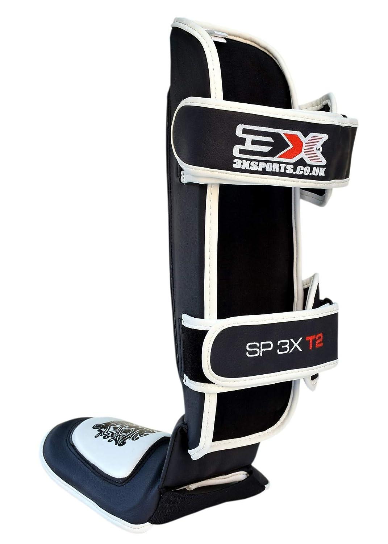 3X Professional Choice Shin Instep Guard MMA Leg Pads Protective Gear Thai Boxing UFC MMA Training Kickboxing