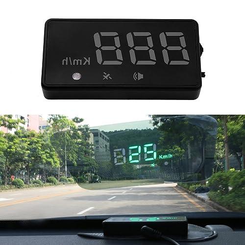 Auto HUD Head Up Display OBD 2 GPS Universal Afficheur de Vitesse KM/H MPH Compteur de Vitesse Avertissement pour Voiture Auto OBD II par sweetlife