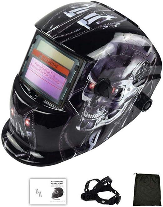 Welding Auto Darkening Filter Welder Goggles Solar Lens Helmet Shade Masks Hood