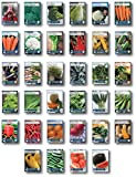 22,000+ Seeds, 34 Heirloom Varieties, Grow 13,000 lbs of Food, Bugout Seed Bag - 100% Non GMO Heirloom Survival Garden Seed Collection, Emergency Seed Vault by Sustainable Seed