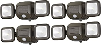 4-Pack Mr. Beams MB3000 Wireless Motion Sensing LED Spotlight