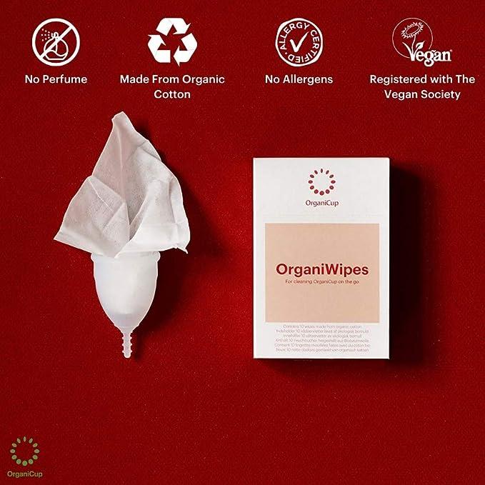 OrganiWipes Paños de limpieza (10 unidades)
