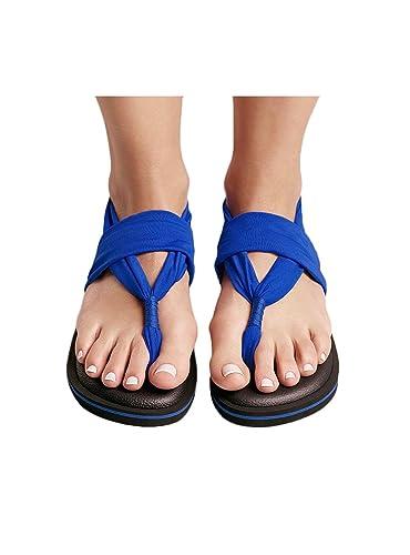 Sandalen Joy Colors Electric Blue 36 Blau 5x6fk6Mz