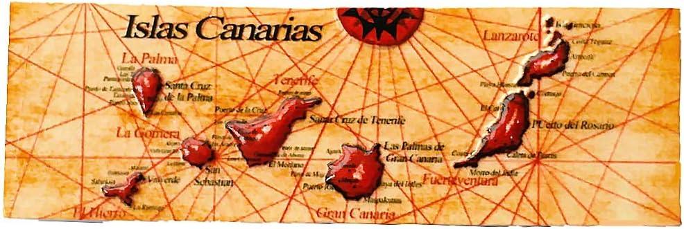 MUYU Magnet Imán para Nevera, diseño de Islas Canarias: Amazon.es: Hogar