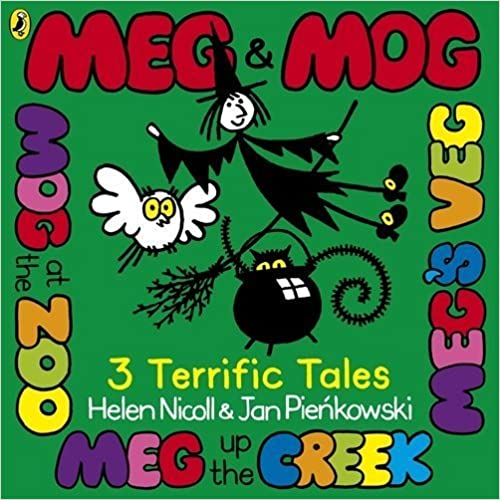 Meg and Mog Three Terrific Tales by Helen Nicoll (2012-10-30)