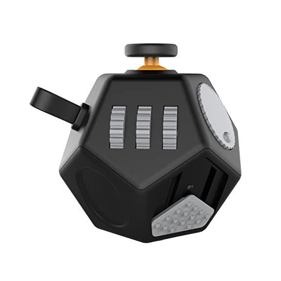 Fidget CubeDecompression Cube Relieves Anxiety And Stress For Children Teens AdultsEasy To