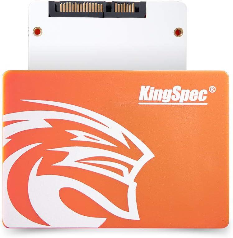"KingSpec SSD 120GB Internal Solid State Drive for Laptop Desktop Sata3 2.5"" 7mm Hard Disk for Computer P4-120"