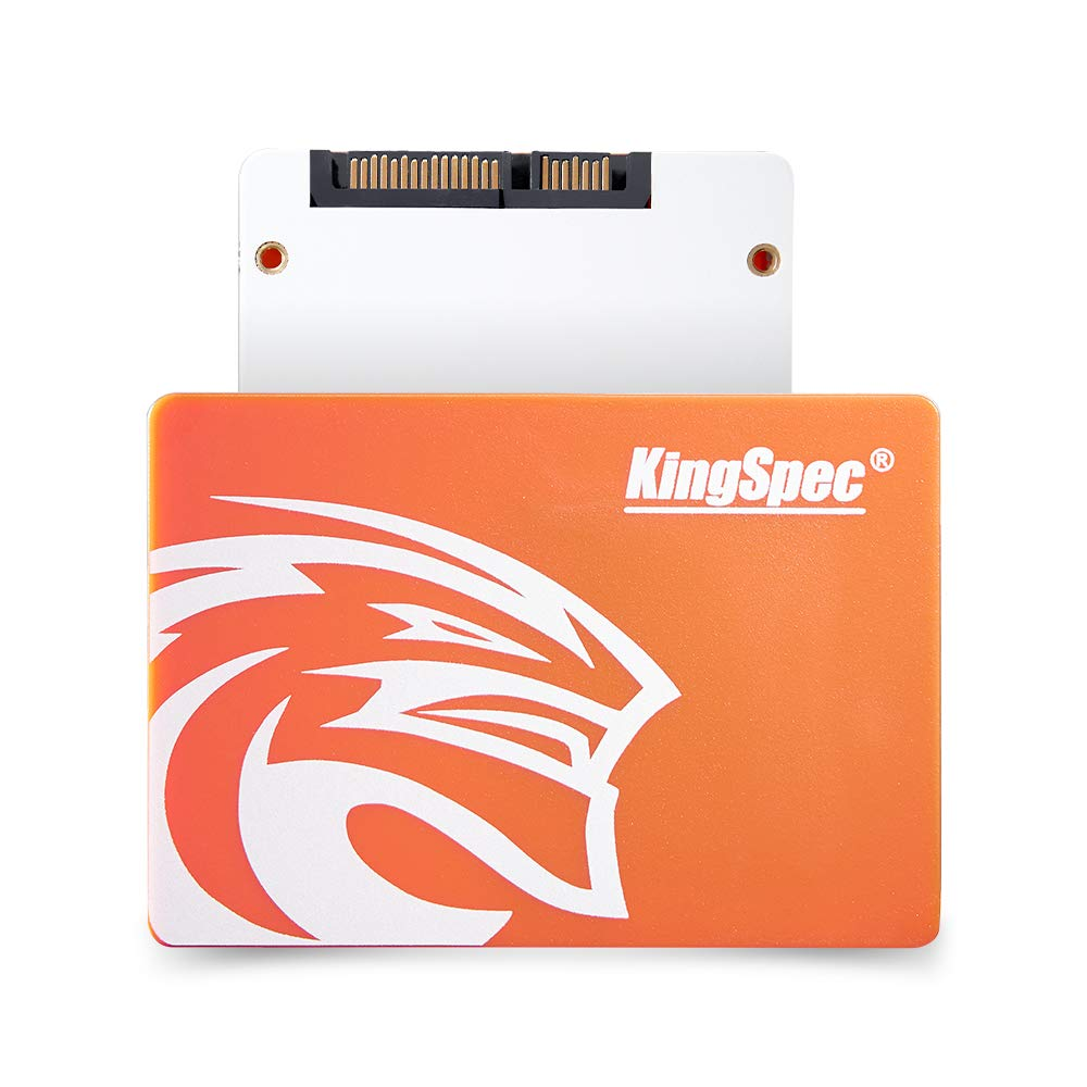 KingSpec SSD 120GB Internal Solid State Drive for Laptop Desktop Sata3 2.5'' 7mm Hard Disk for Computer P4-120