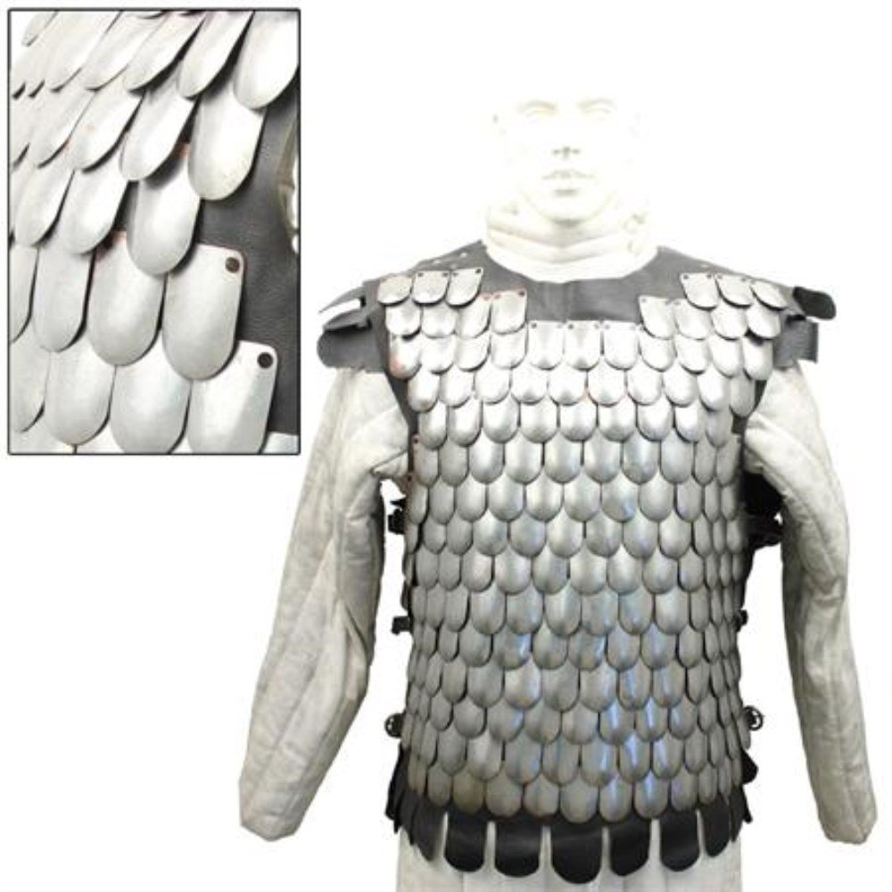 Medieval Bridgand's Steel Scale Mail Body Armor by General Edge (Image #2)