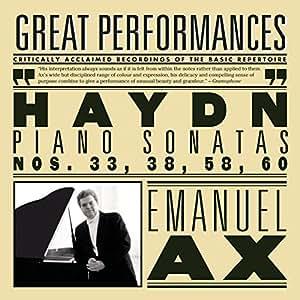 Haydn: Sonatas Nos. 33, 38, 58, 60