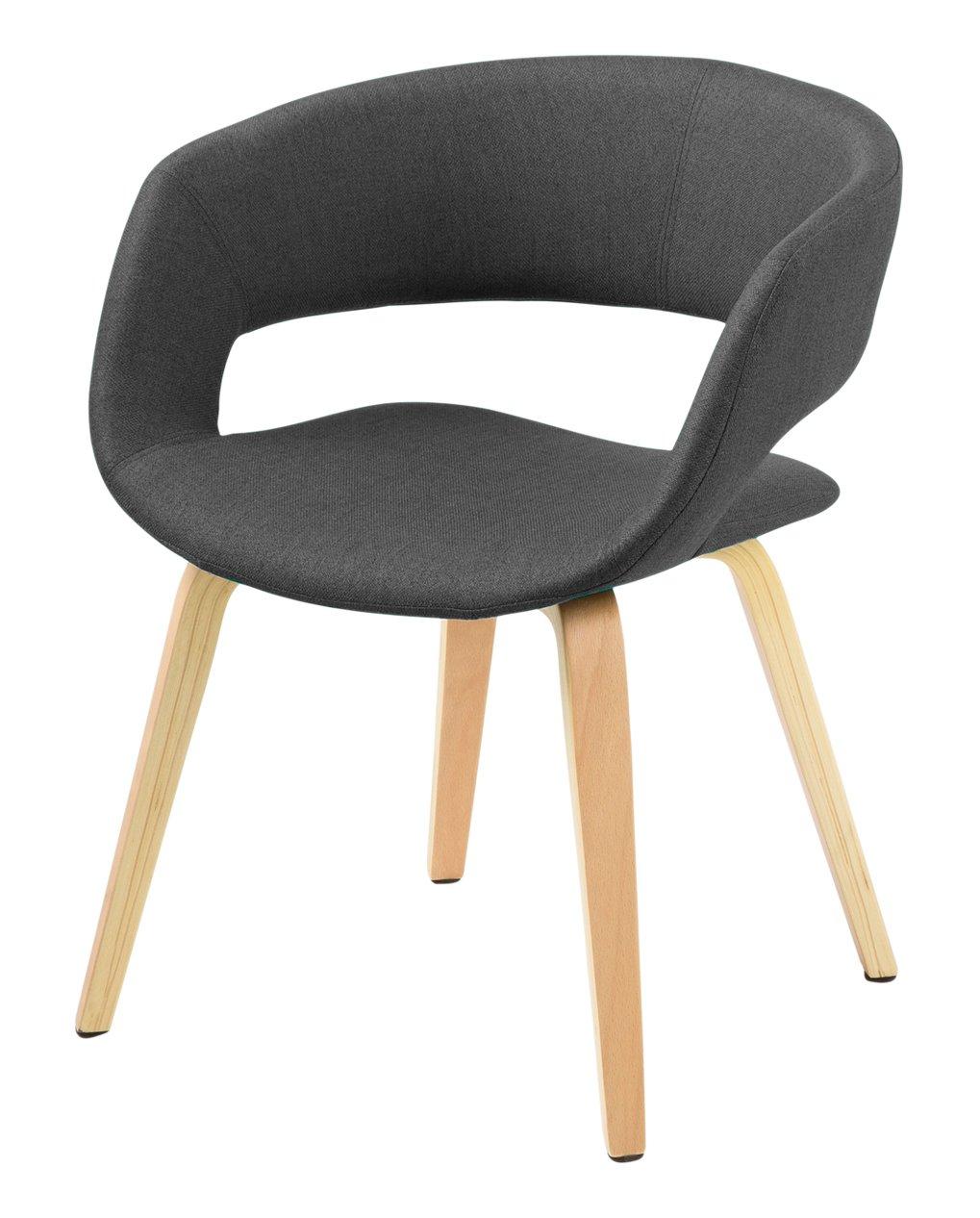 Bezaubernd Esszimmerstühle Grau Stoff Ideen Von Ac Design Furniture 60106 Esszimmerstuhl Jack, Corsica