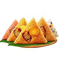 朱先森嘉兴粽子蛋黄鲜肉粽豆沙粽早餐速食肉粽8粽
