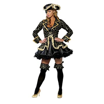 GBYAY Disfraz de Pirata Falda de Mujer Fiesta de Halloween Cosplay ...