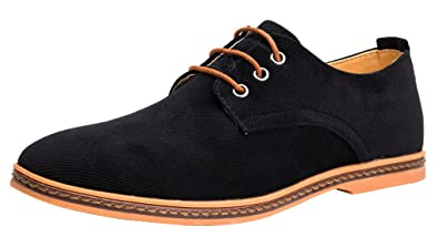 Amazon.com | Men's Oxford Shoes Lace Up Casual Footwear | Oxfords