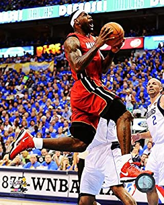 The Poster Corp Lebron James 2010-11 NBA Finals Action Photo Print ...