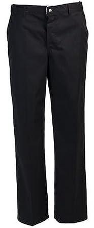 7863af4c6de Robur - Pantalon De Cuisine - Timeo -Noir  Amazon.fr  Vêtements et ...