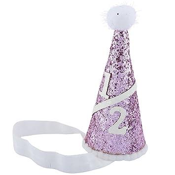LUX accesorios con purpurina de tarta de cumpleaños bebé ...