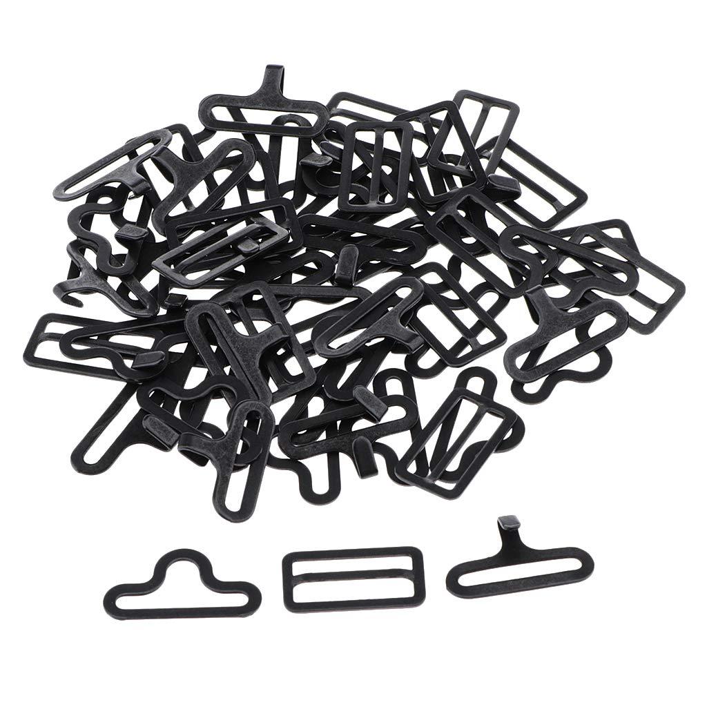 IPOTCH 20 Unids Clip de Corbata de Lazo Metal Ajustable Gancho ...